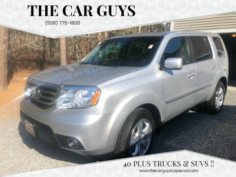 2012 Honda Pilot for sale at The Car Guys in Hyannis MA