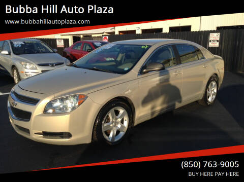 2010 Chevrolet Malibu for sale at Bubba Hill Auto Plaza in Panama City FL