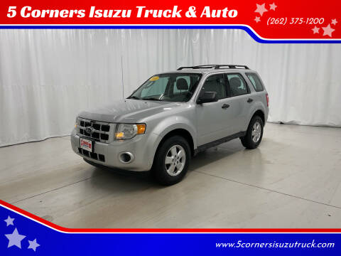 2011 Ford Escape for sale at 5 Corners Isuzu Truck & Auto in Cedarburg WI