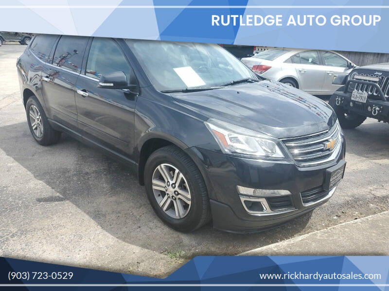 2015 Chevrolet Traverse for sale at Rutledge Auto Group in Palestine TX