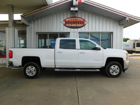 2015 Chevrolet Silverado 2500HD for sale at Motorsports Unlimited in McAlester OK