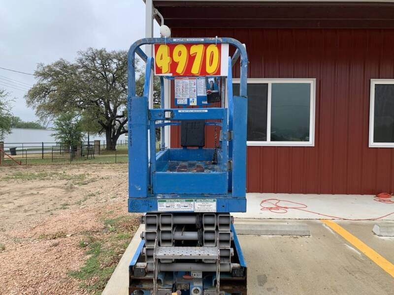 2014 GENIE Scissor Lifts 1930 - GS2632 -  for sale at LJD Sales in Lampasas TX