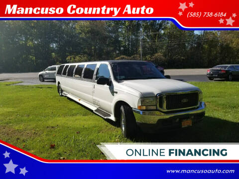 2005 Ford Excursion for sale at Mancuso Country Auto in Batavia NY
