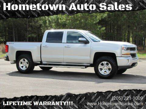 2017 Chevrolet Silverado 1500 for sale at Hometown Auto Sales - Trucks in Jasper AL