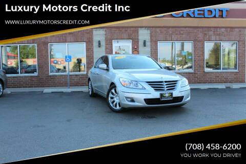 2011 Hyundai Genesis for sale at Luxury Motors Credit Inc in Bridgeview IL
