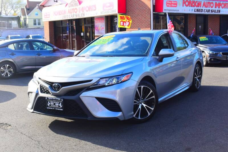2019 Toyota Camry for sale at Foreign Auto Imports in Irvington NJ