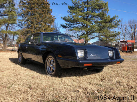 1984 Avanti II for sale at MIDWAY AUTO SALES & CLASSIC CARS INC in Fort Smith AR