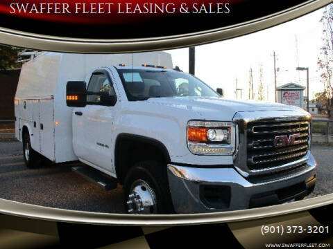 2018 GMC Sierra 3500HD for sale at SWAFFER FLEET LEASING & SALES in Memphis TN