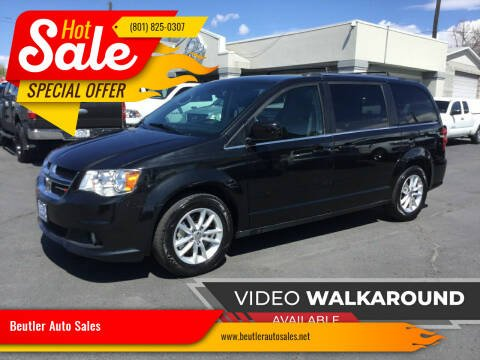 2019 Dodge Grand Caravan for sale at Beutler Auto Sales in Clearfield UT