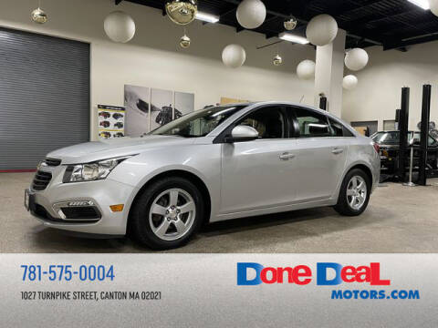 2016 Chevrolet Cruze Limited for sale at DONE DEAL MOTORS in Canton MA