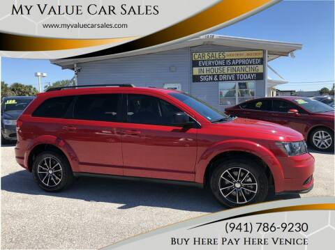 2017 Dodge Journey for sale at My Value Car Sales - Upcoming Cars in Venice FL