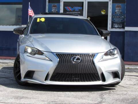 2014 Lexus IS 250 for sale at VIP AUTO ENTERPRISE INC. in Orlando FL