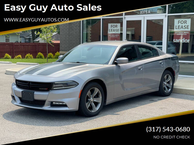 2015 Dodge Charger for sale at Easy Guy Auto Sales in Indianapolis IN