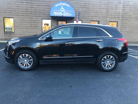 2019 Cadillac XT5 for sale at New England Motor Car Company in Hudson NH