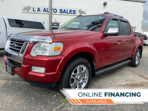 2008 Ford Explorer Sport Trac for sale at LA Auto & RV Sales and Service in Lapeer MI