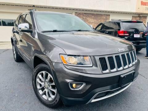 2014 Jeep Grand Cherokee for sale at North Georgia Auto Brokers in Snellville GA