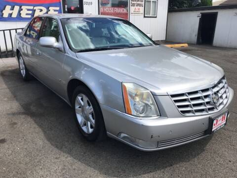 2006 Cadillac DTS for sale at J and H Auto Sales in Union Gap WA