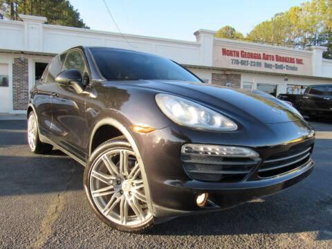 2011 Porsche Cayenne for sale at North Georgia Auto Brokers in Snellville GA