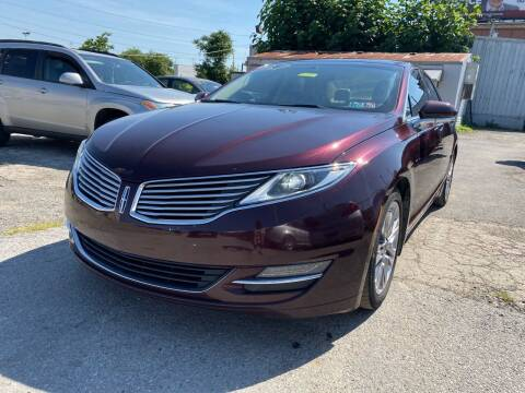 2013 Lincoln MKZ for sale at Philadelphia Public Auto Auction in Philadelphia PA