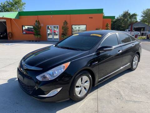 2014 Hyundai Sonata Hybrid for sale at Galaxy Auto Service, Inc. in Orlando FL