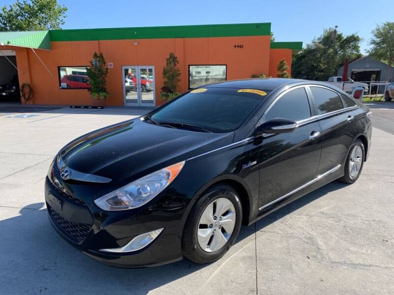 2014 Hyundai Sonata Hybrid for sale at Galaxy Auto Service, Inc. in Orlando FL
