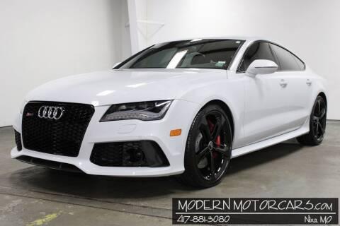 2015 Audi RS 7 for sale at Modern Motorcars in Nixa MO