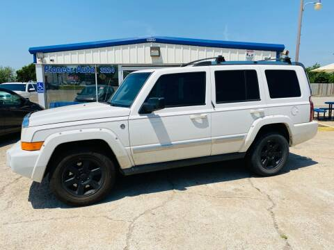 2006 Jeep Commander for sale at Pioneer Auto in Ponca OK