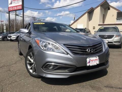 2017 Hyundai Azera for sale at PAYLESS CAR SALES of South Amboy in South Amboy NJ