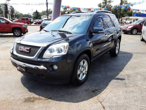 2007 GMC Acadia for sale at TOP YIN MOTORS in Mount Prospect IL