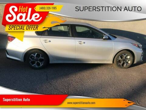 2019 Kia Forte for sale at Superstition Auto in Mesa AZ