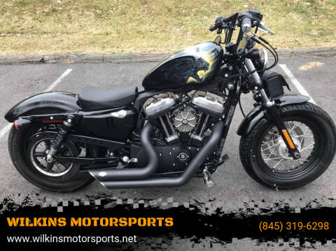 2011 Harley-Davidson Sportster Marvel Black Panther for sale at WILKINS MOTORSPORTS in Brewster NY