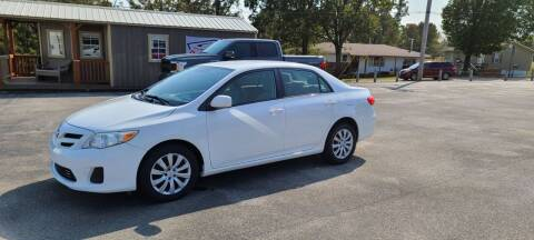 2012 Toyota Corolla for sale at Aaron's Auto Sales in Poplar Bluff MO