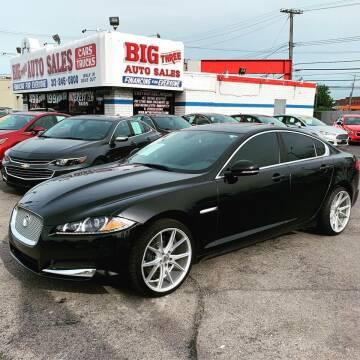 2013 Jaguar XF for sale at Big Three Auto Sales Inc. in Detroit MI