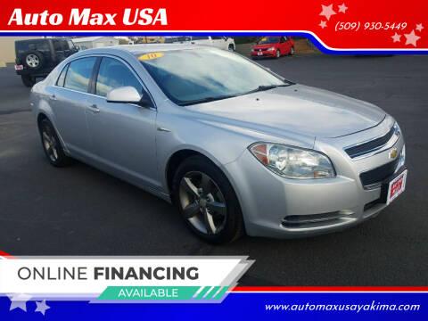 2010 Chevrolet Malibu Hybrid for sale at Auto Max USA in Yakima WA