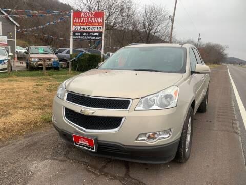 2011 Chevrolet Traverse for sale at Korz Auto Farm in Kansas City KS