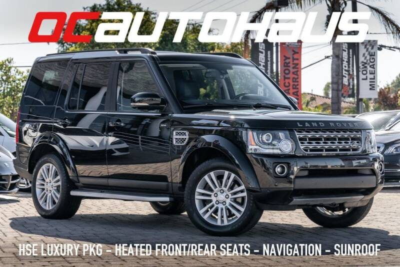 2016 Land Rover LR4 for sale in Westminster, CA
