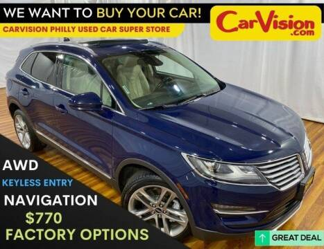 2018 Lincoln MKC for sale at Car Vision Mitsubishi Norristown - Car Vision Philly Used Car SuperStore in Philadelphia PA