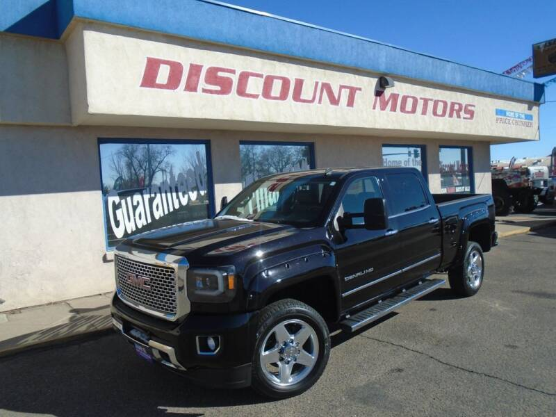 2015 GMC Sierra 2500HD for sale at Discount Motors in Pueblo CO