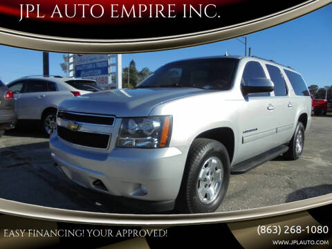 2014 Chevrolet Suburban for sale at JPL AUTO EMPIRE INC. in Auburndale FL
