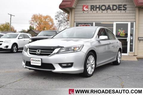 2014 Honda Accord for sale at Rhoades Automotive in Columbia City IN