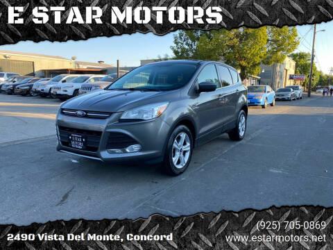2014 Ford Escape for sale at E STAR MOTORS in Concord CA