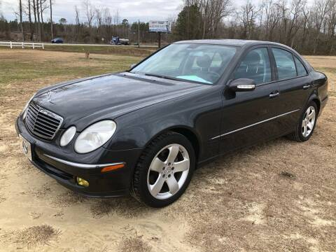 2004 Mercedes-Benz E-Class for sale at IH Auto Sales in Jacksonville NC