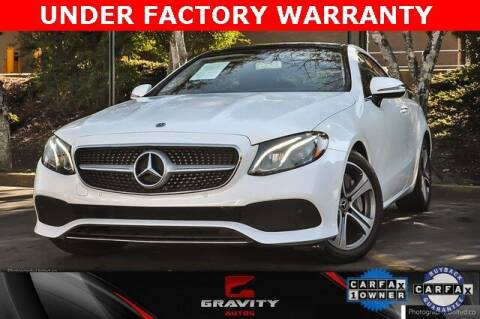 2018 Mercedes-Benz E-Class for sale at Gravity Autos Atlanta in Atlanta GA