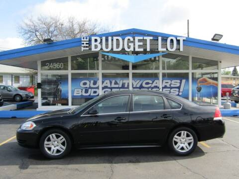 2012 Chevrolet Impala for sale at THE BUDGET LOT in Detroit MI