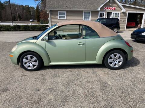 2007 Volkswagen New Beetle Convertible for sale at MIKE B CARS LTD in Hammonton NJ