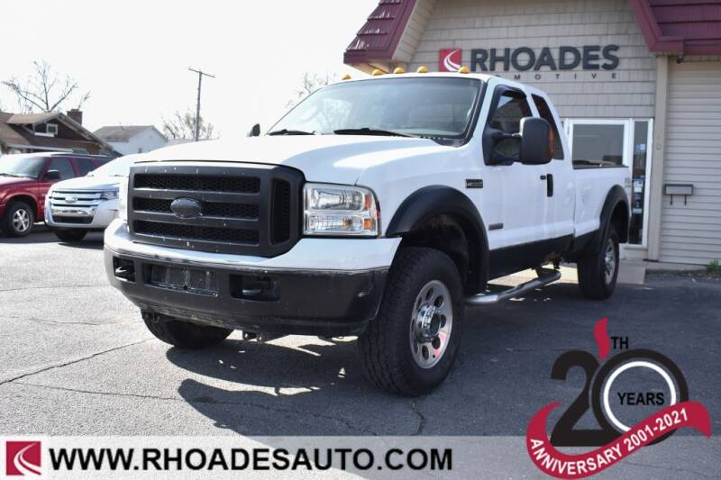 2006 Ford F-350 Super Duty for sale at Rhoades Automotive in Columbia City IN