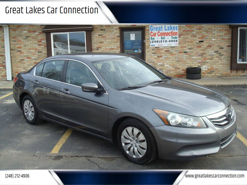 2011 Honda Accord for sale at Great Lakes Car Connection in Metamora MI