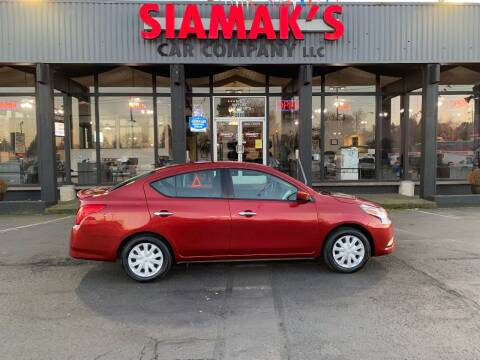 2018 Nissan Versa for sale at Siamak's Car Company llc in Salem OR