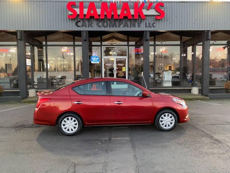 2018 Nissan Versa for sale at Siamak's Car Company llc in Salem OR