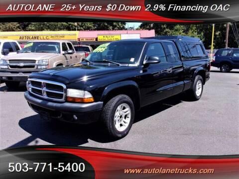 2004 Dodge Dakota for sale at Auto Lane in Portland OR